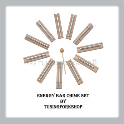 11 Planetary Energy Bar Chime Set