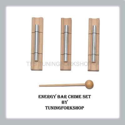 3 Angel Energy Bar Chime Set