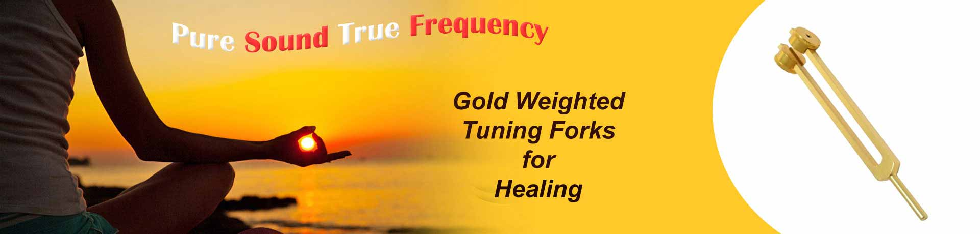 Gold Finish Tuning Forks
