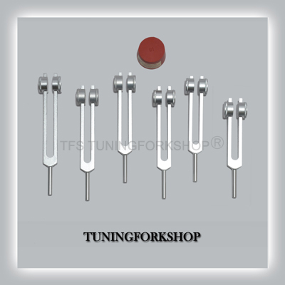 6 Sacred Solfeggio Tuning Forks