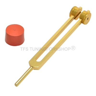 Gold Finish Otto Tuning Fork 64 Hz