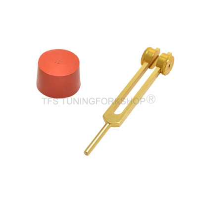 Gold Finish Otto Tuning Fork 128 Hz
