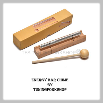 "Energy Bar Chime Sacral Harmonic Tone ""D"""