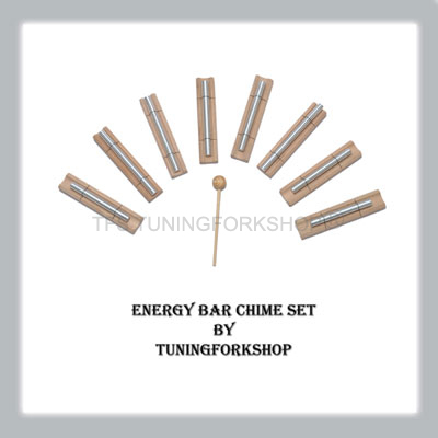 8 Harmonic Energy Bar Chime Set