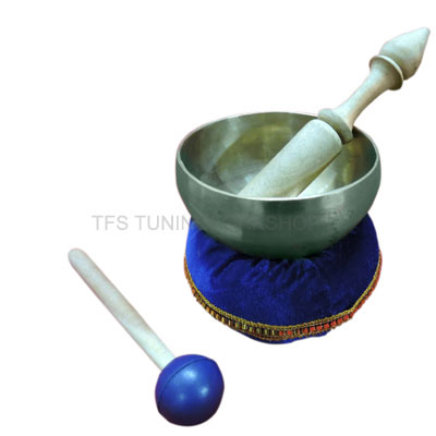 "4.5"" Hand Hammered 7 Metal Tibetan Meditation Singing Bowl"