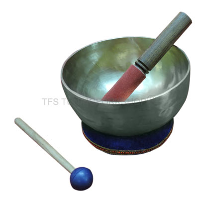 "8"" Hand Hammered 7 Metal Tibetan Meditation Singing Bowl"