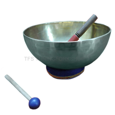 "9"" Hand Hammered 7 Metal Tibetan Meditation Singing Bowl"